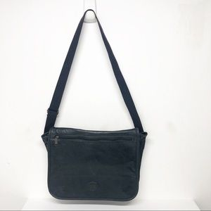 Cypress Woods Faux Leather Messenger Bag Tote